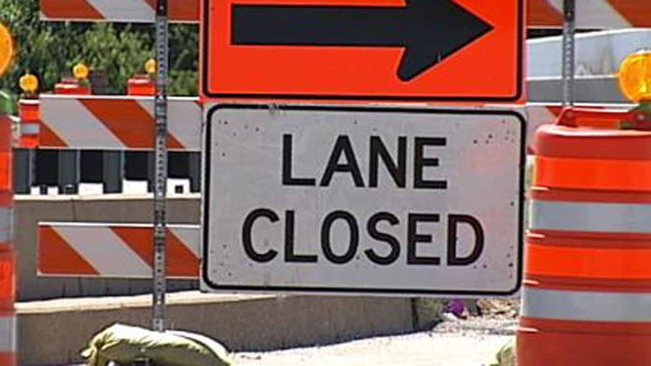 15th Street Closed At Yale After Waterline Work Causes Ice Hazard
