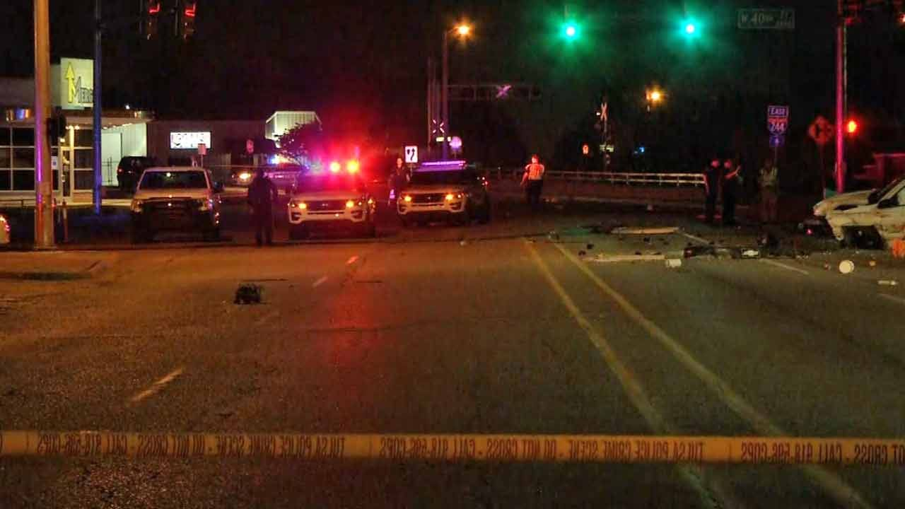 Police Name Man Killed In High-Speed Tulsa Crash On Southwest Boulevard