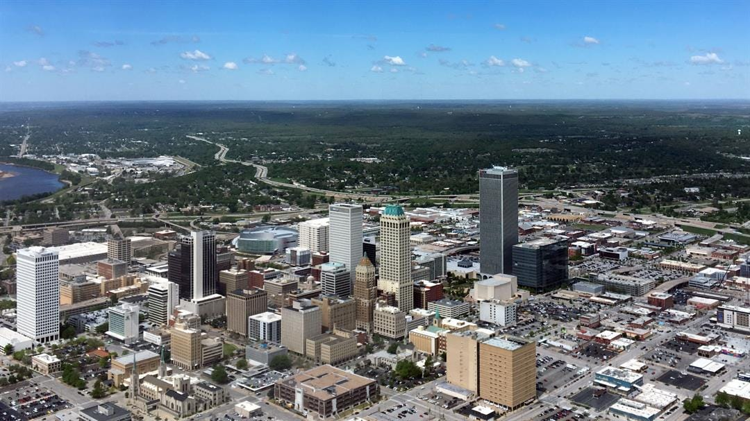 More Lane Changes Coming To Highways Around Downtown Tulsa
