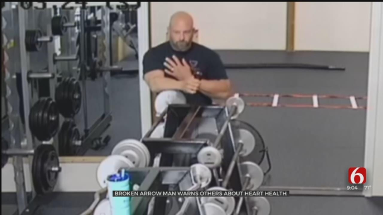 Broken Arrow Business Owner Warns Others About Heart Health Following Heart Attack