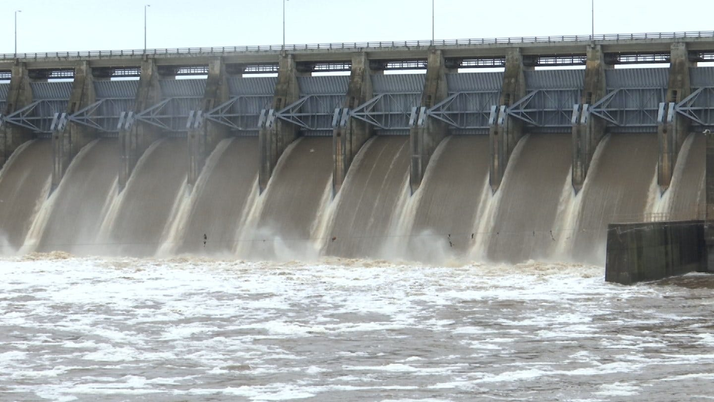 Army Corps Of Engineers Monitoring Water Levels As Rainfall Increases