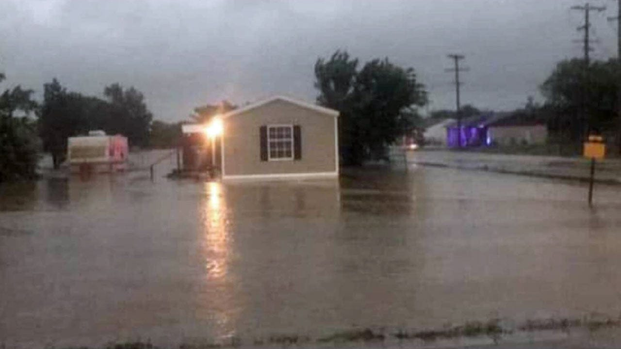 Heavy Rain Causing Flooding, Water Rescues In Eastern Oklahoma