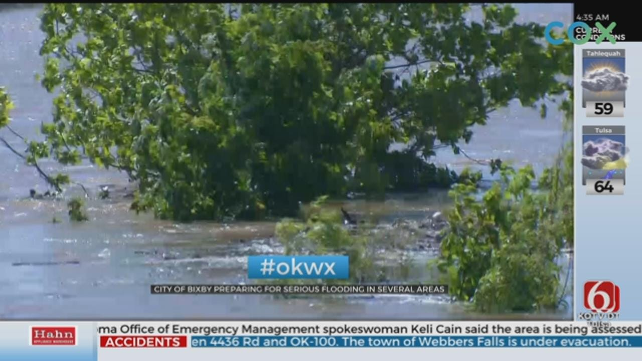 UPDATE: Bixby Lists Neighborhoods To Be Evacuated
