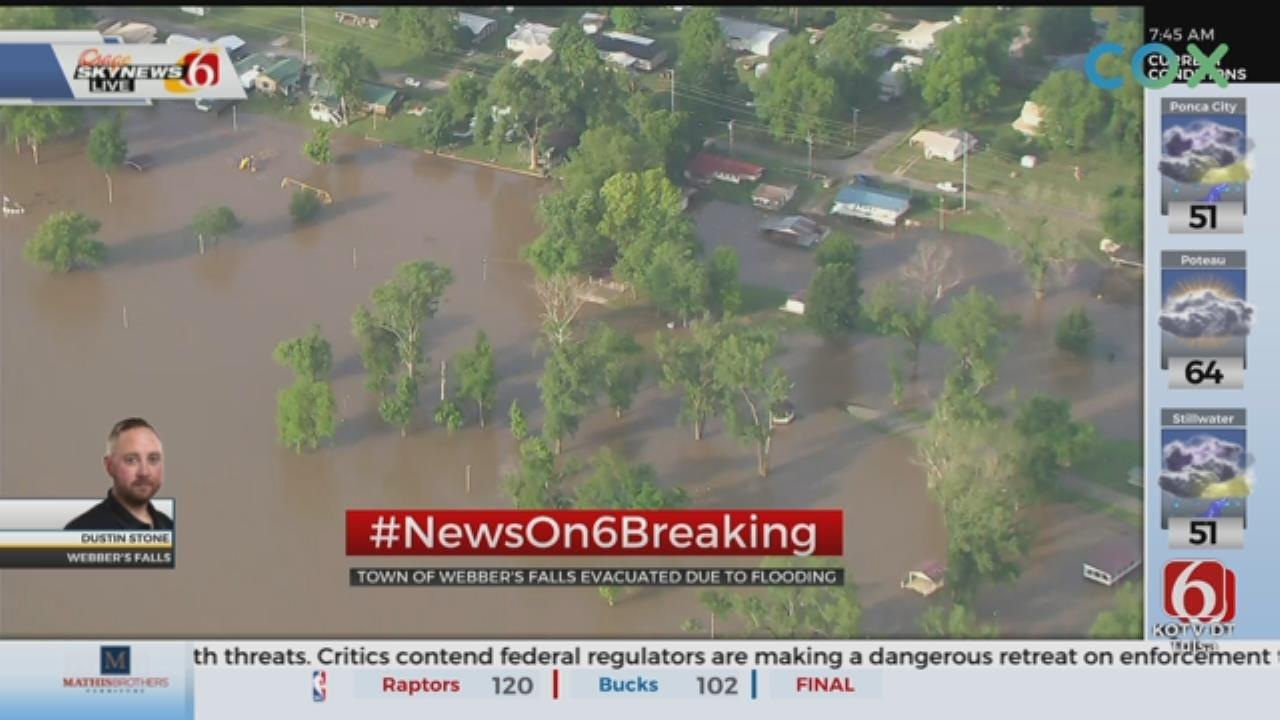 UPDATE: Webbers Falls Under Mandatory Evacuation