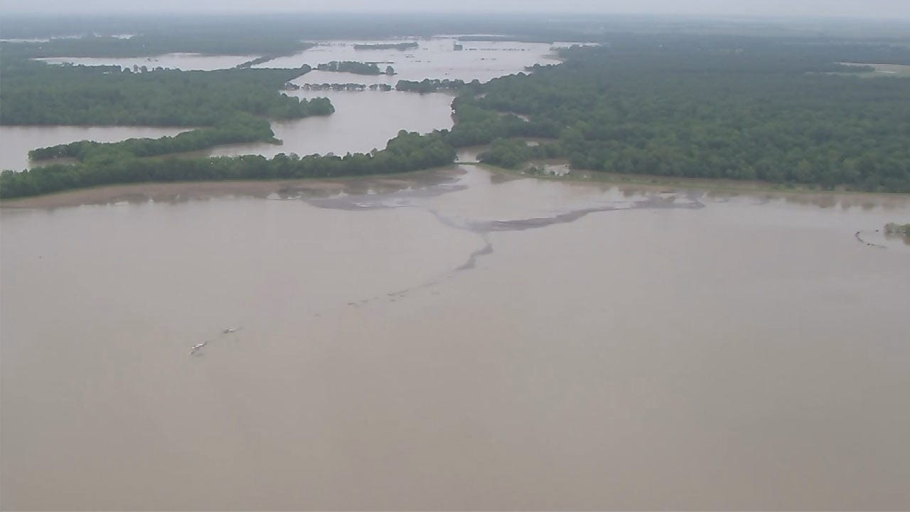 High Water Closures Announced At Oklahoma State Parks