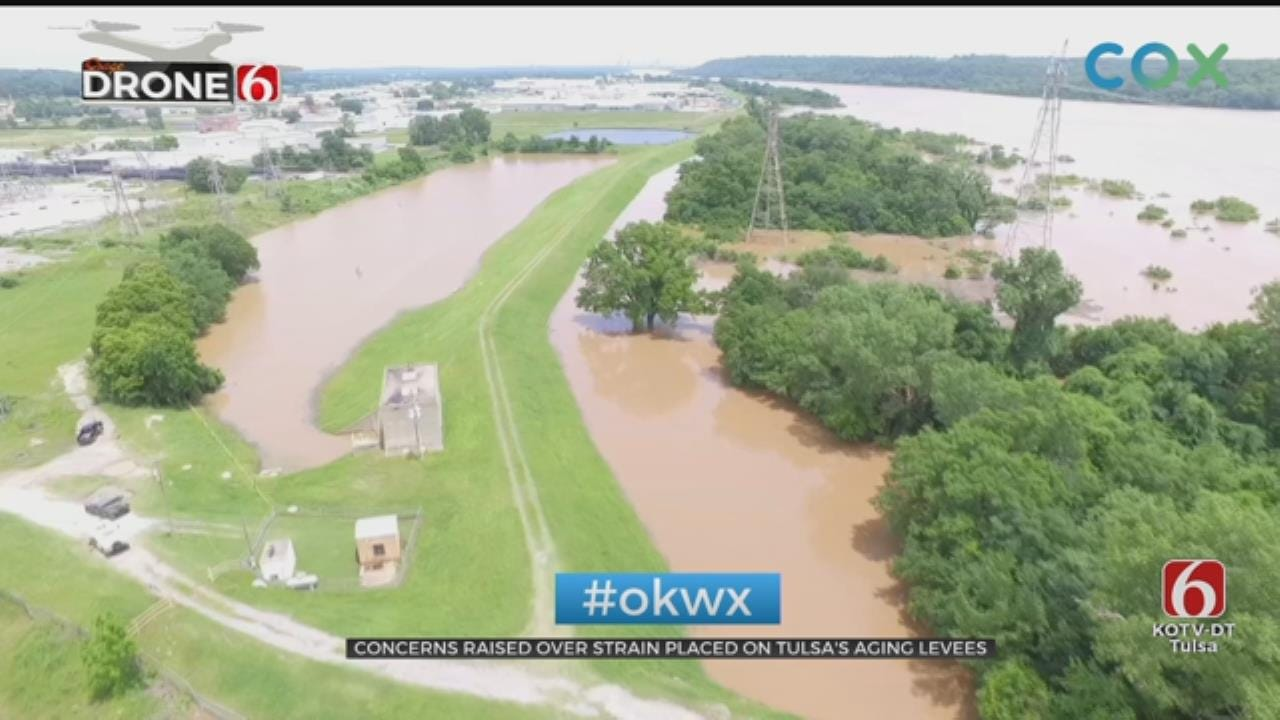 Levee Concerns Continue With Increased Release Rate From Keystone Dam