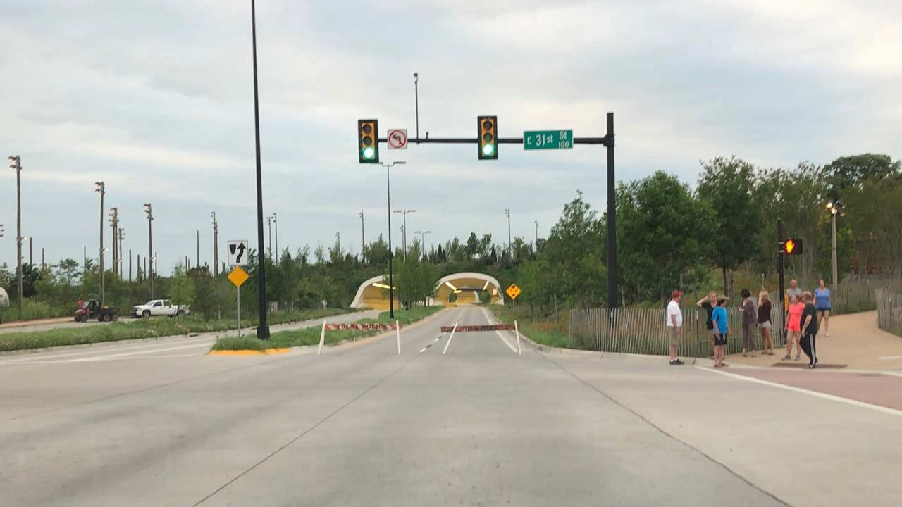 Tulsa Gathering Place Closes Due To Flooding Concerns