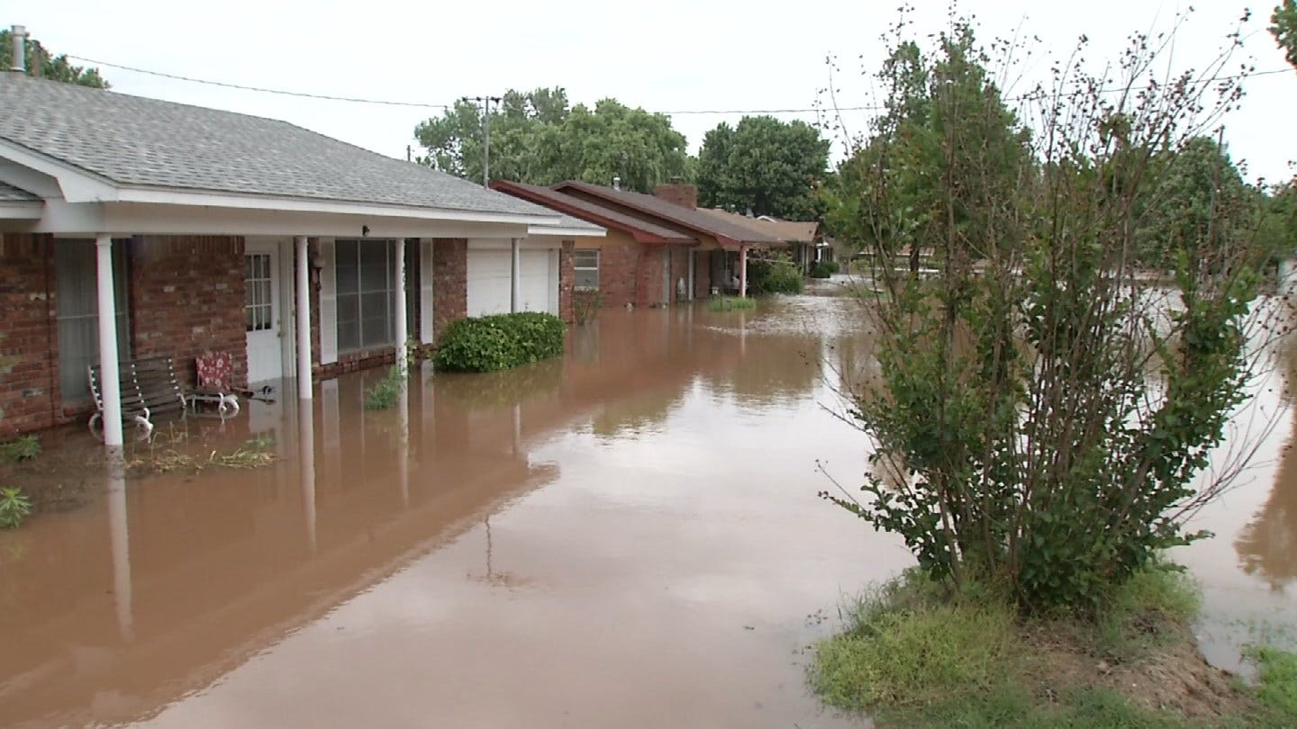 Families In Sand Springs Looking For Some Place To Go