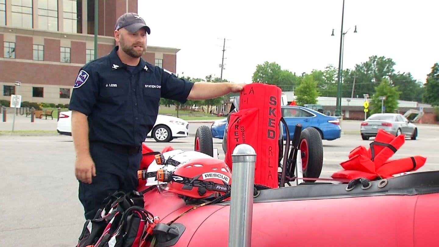 Rogers County Rescue Team Prepared For More Flooding