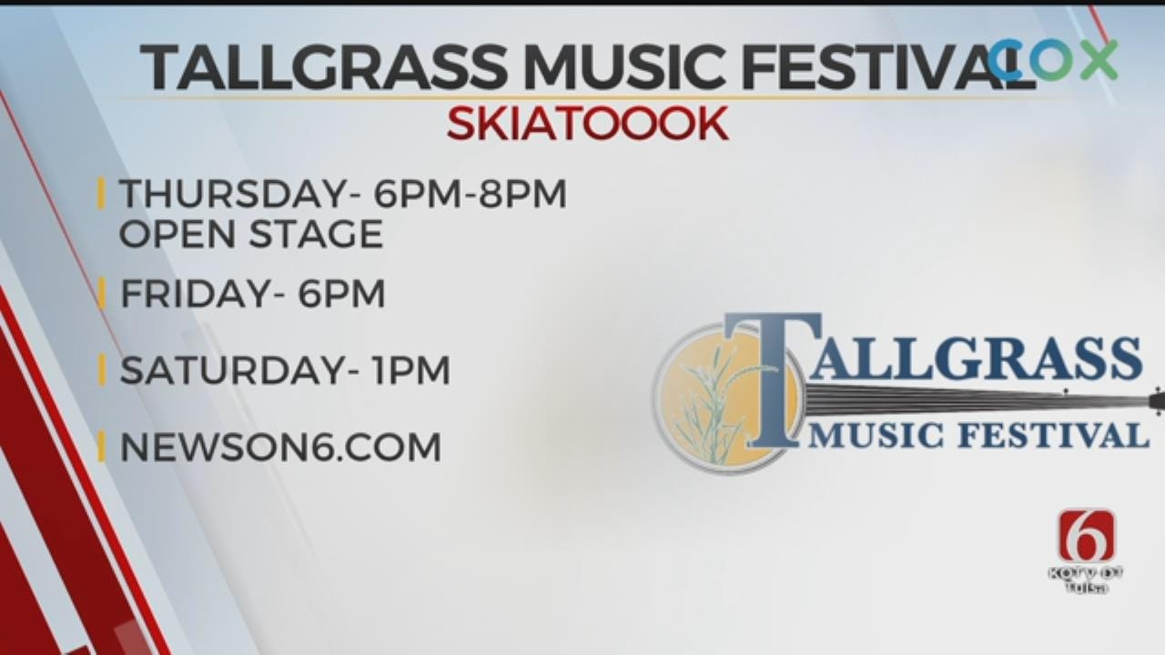 The Tallgrass Music Festival Starts Thursday