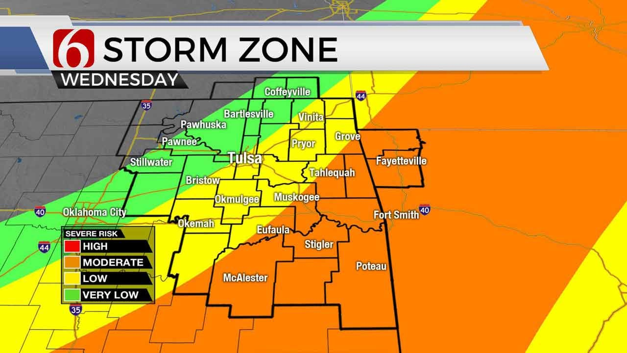 Flash Flood Emergency In Effect For Parts Of Northeastern Oklahoma