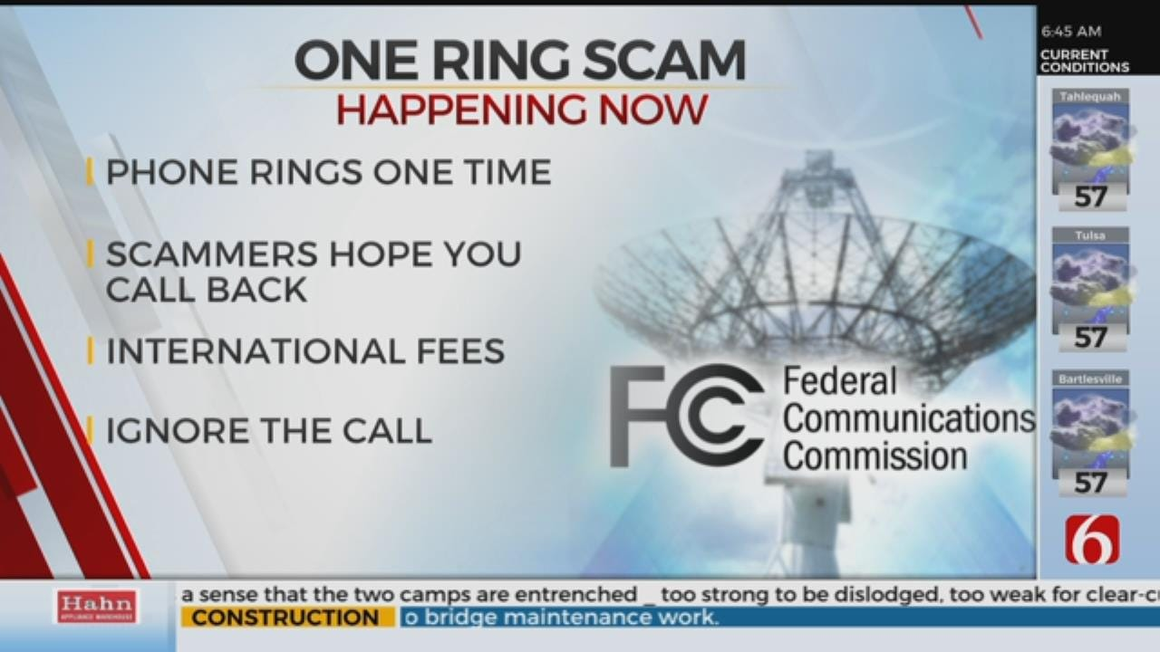 One-Ring Phone Scams From Sierra Leone Impacts Tulsa Residents