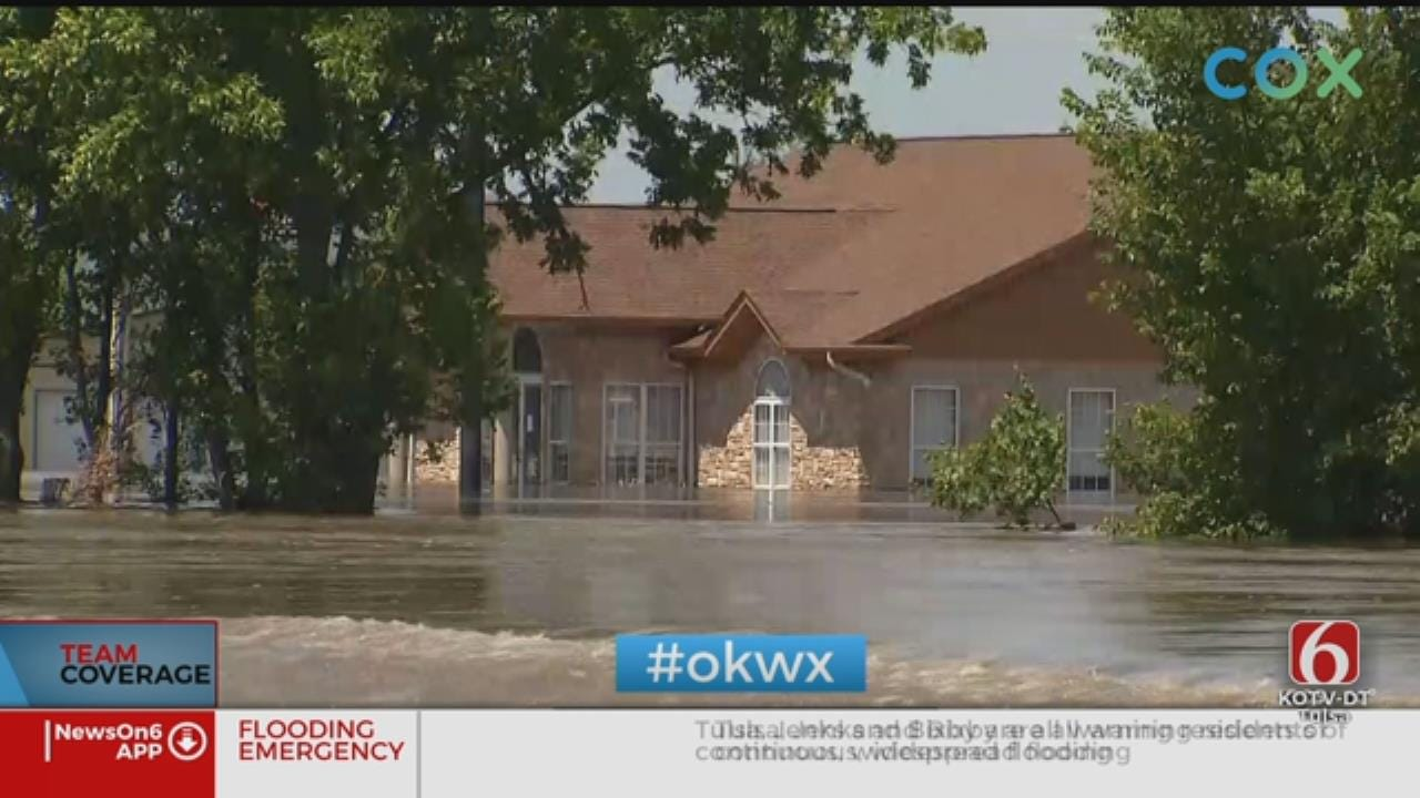 About 2,400 People Displaced By Flooding In Muskogee County