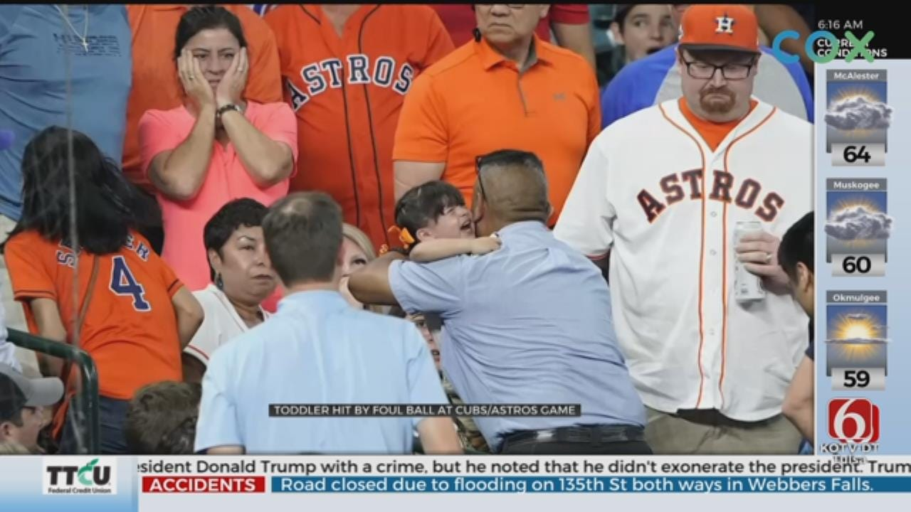 Child Hit By Line Drive At Astros Game, Taken To Hospital