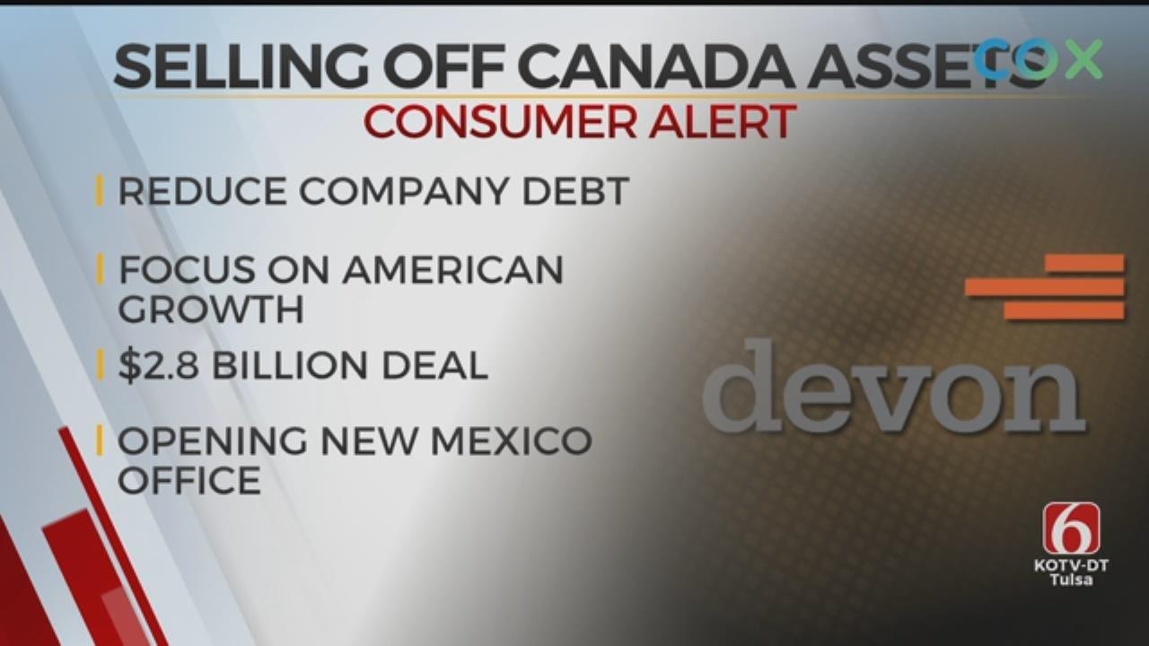 Devon Energy Sells Canadian Assets