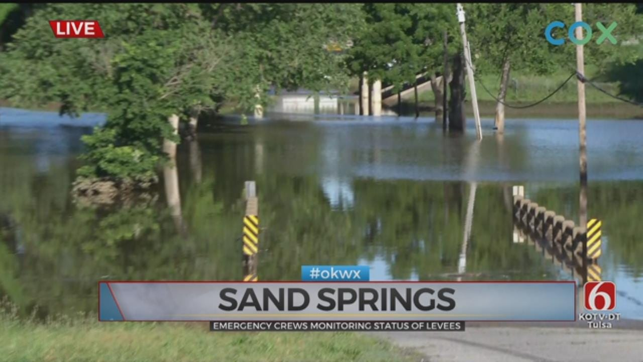 Inspection Of Levees Continue, Water Begins Receding Slowly