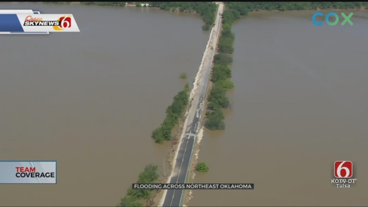 WATCH: Scale Of Oklahoma Flooding Hard To Grasp