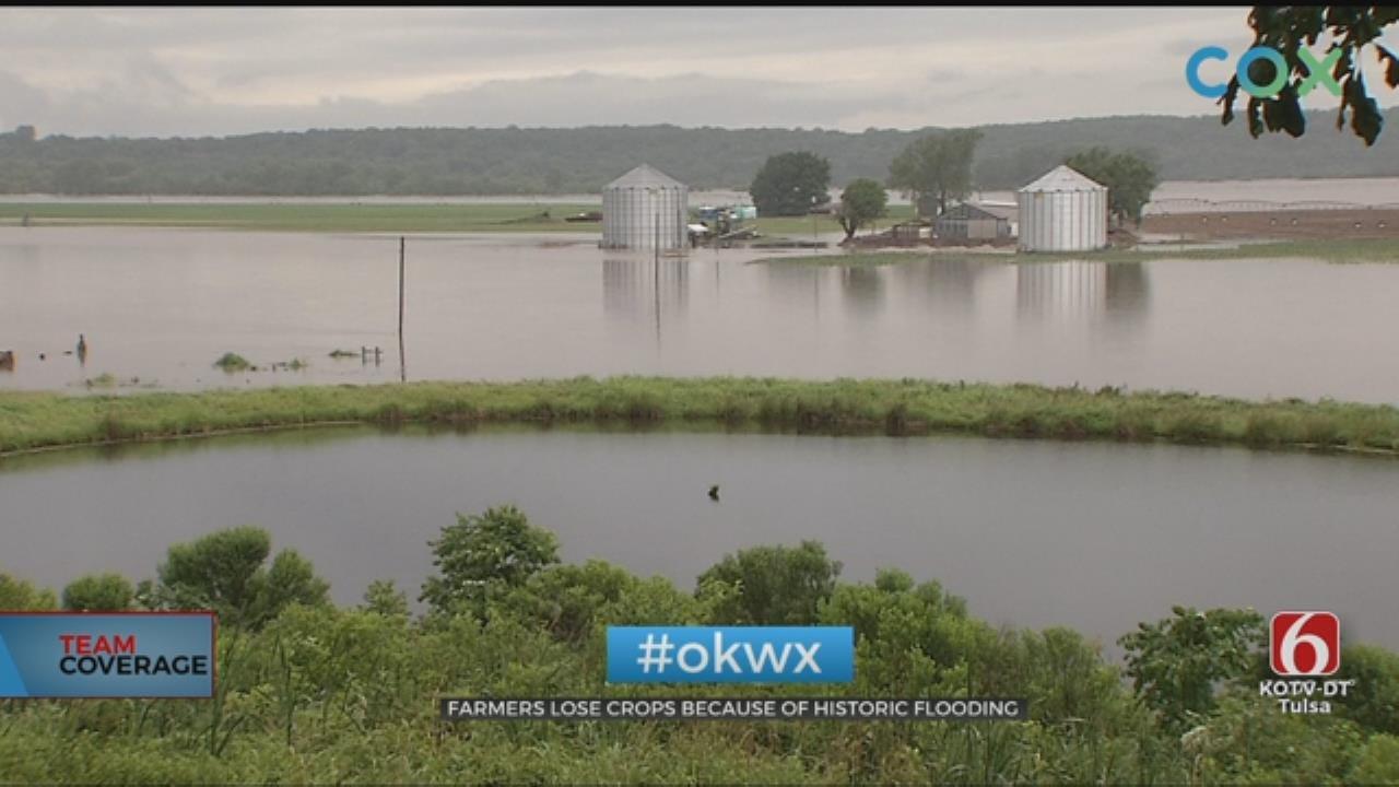 Braggs-Area Farmer Facing Loss Of Crops, Equipment In Floods