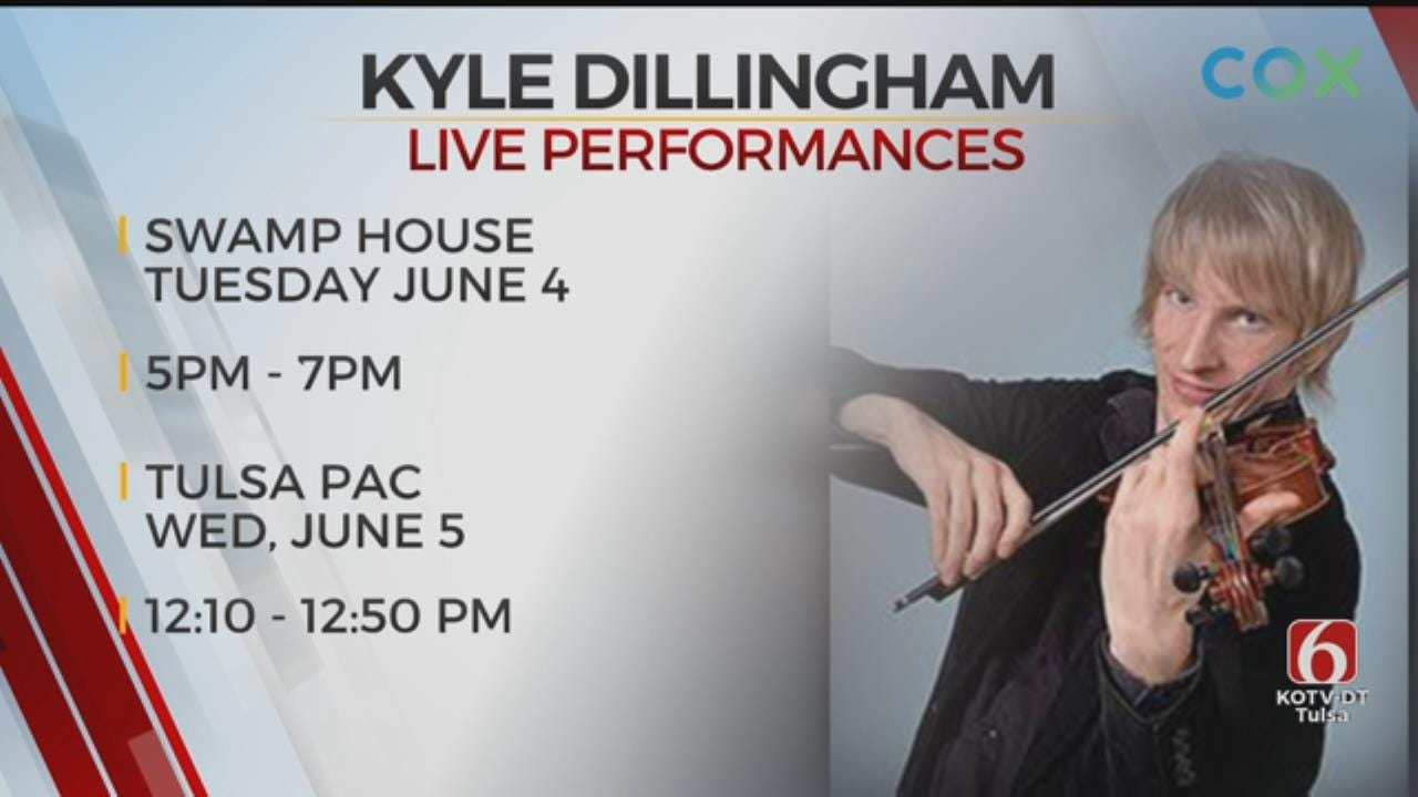 Kyle Dillingham & Horseshoe Road To Play Tulsa PAC 'Brown Bag It' Concert