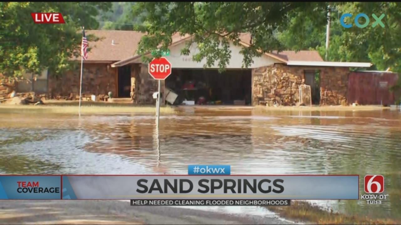 Volunteers Needed To Help Sand Springs Flood Victims Saturday