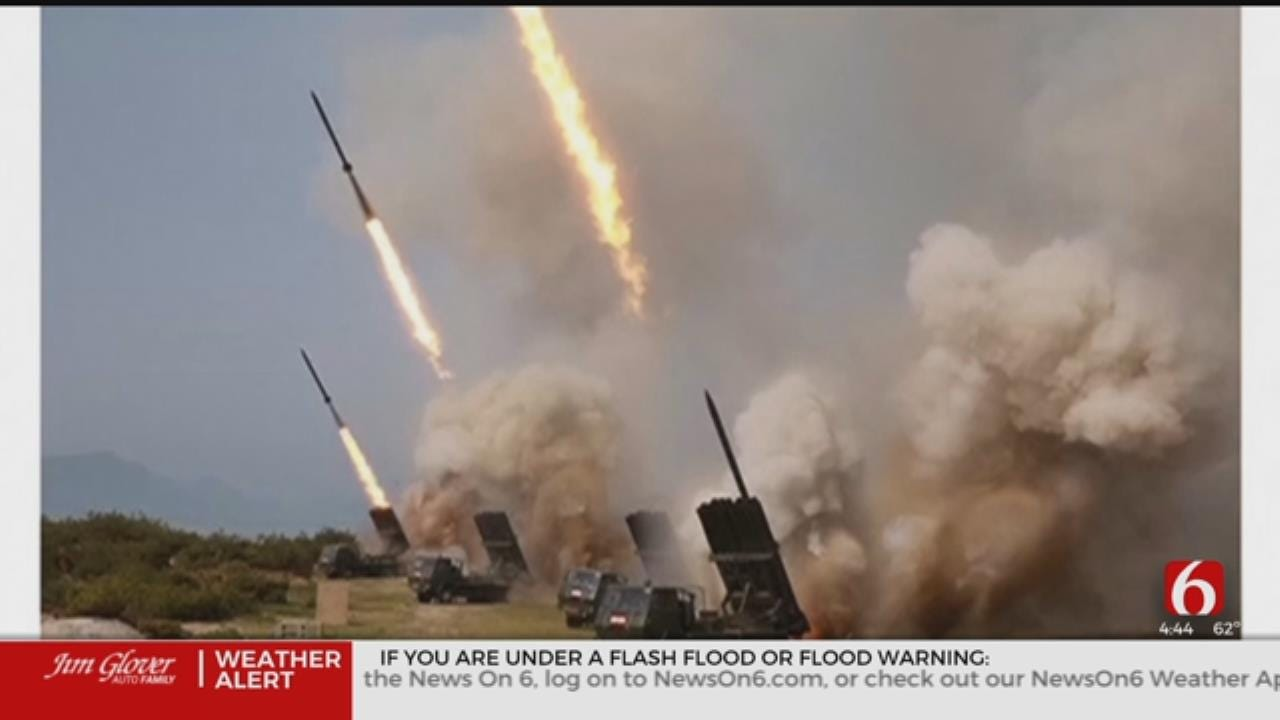 North Korea Fires Short-Range Projectiles Into Sea, Says South Korean Military