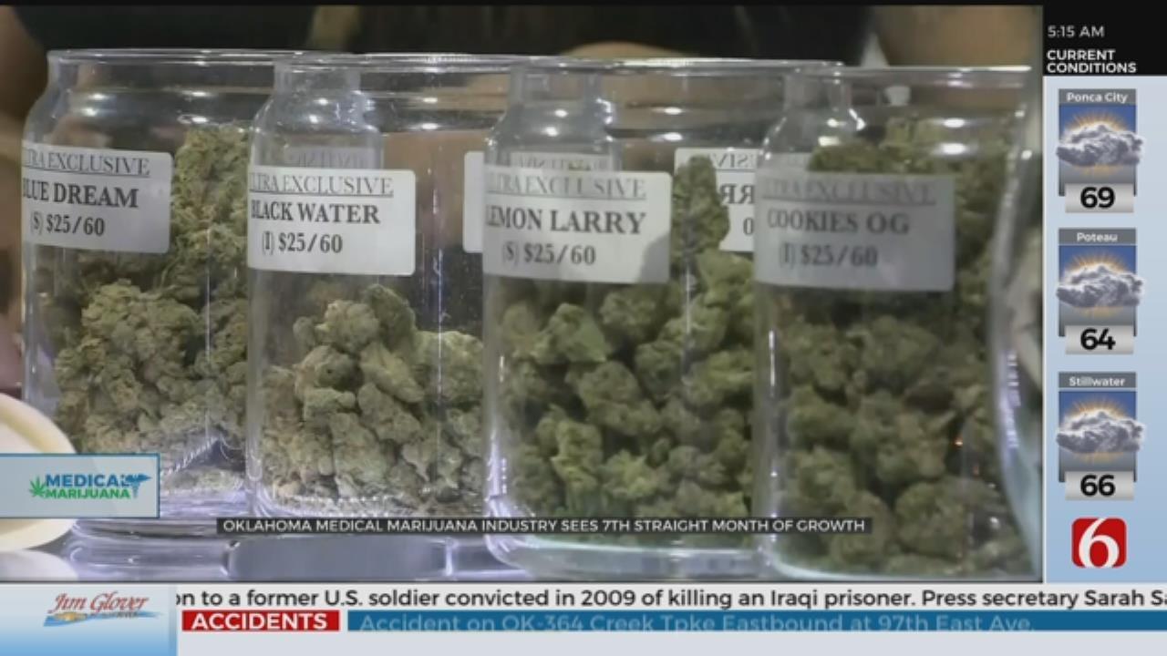 Oklahoma's Medical Marijuana Industry's Growth Continues