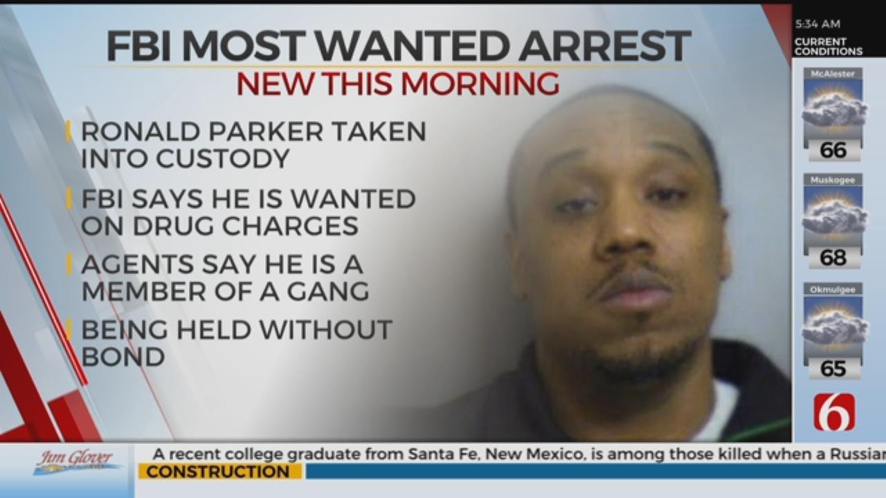 Wanted FBI Fugitive Arrested In Tulsa