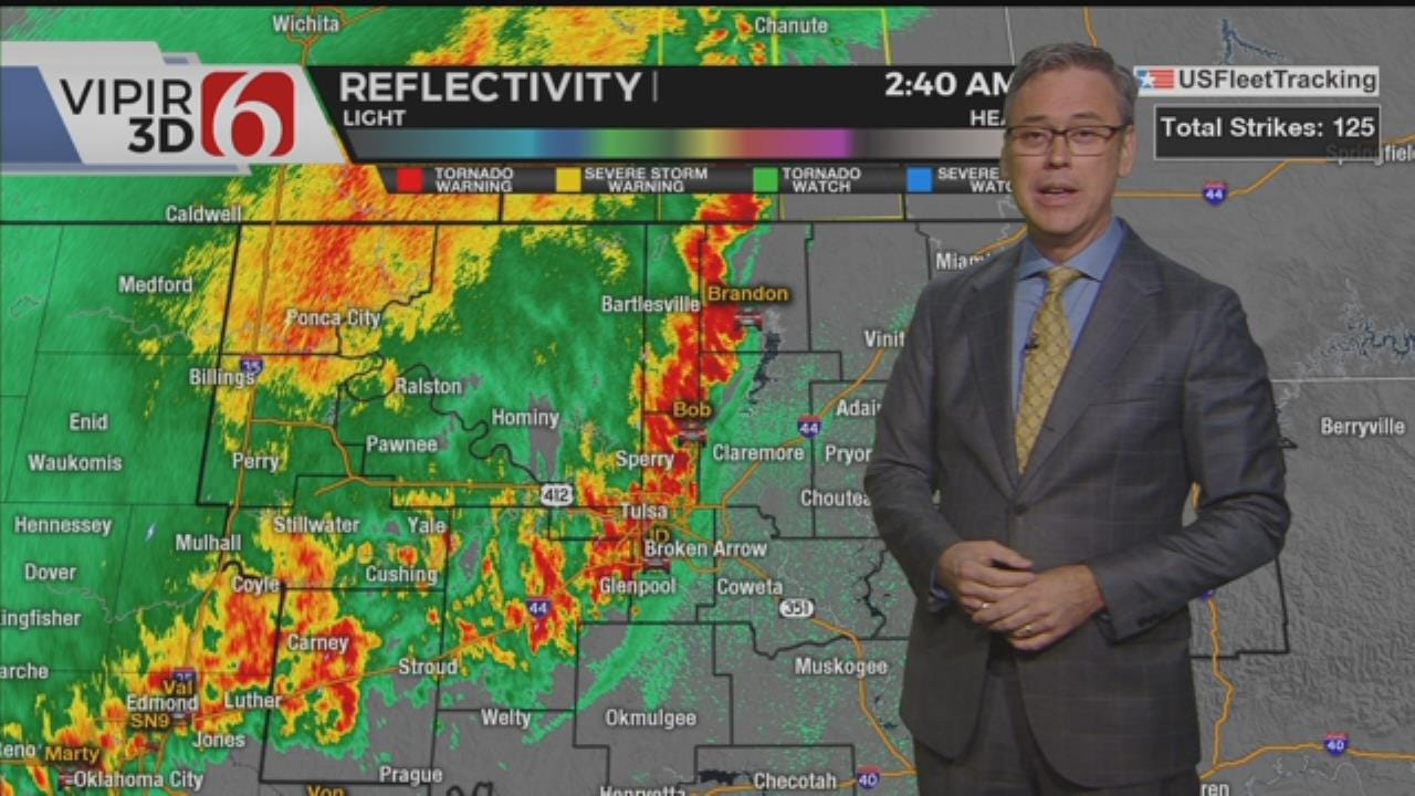 WATCH: Severe Weather Update With Alan Crone