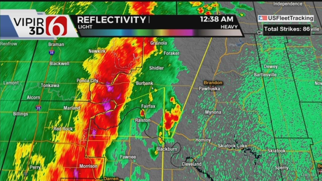 WATCH: Severe Weather Update With Travis Meyer