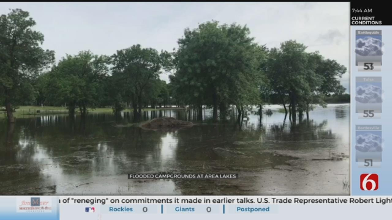 Flooding Closes Several Northeastern Oklahoma Campgrounds