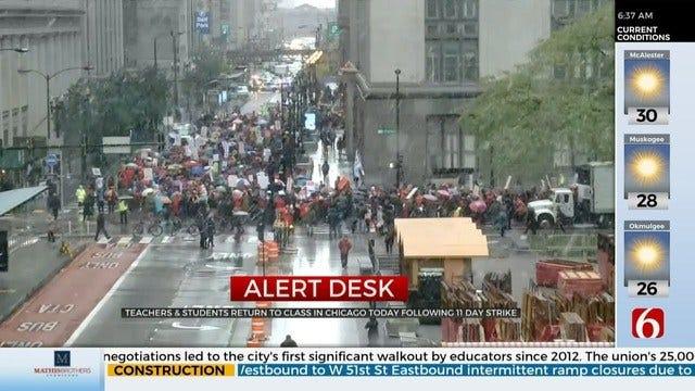 Chicago Teacher Strike Ends After 11 Days