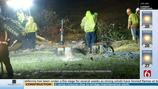 City Of Tulsa Makes Preventative Plans To Minimize Waterline Breaks