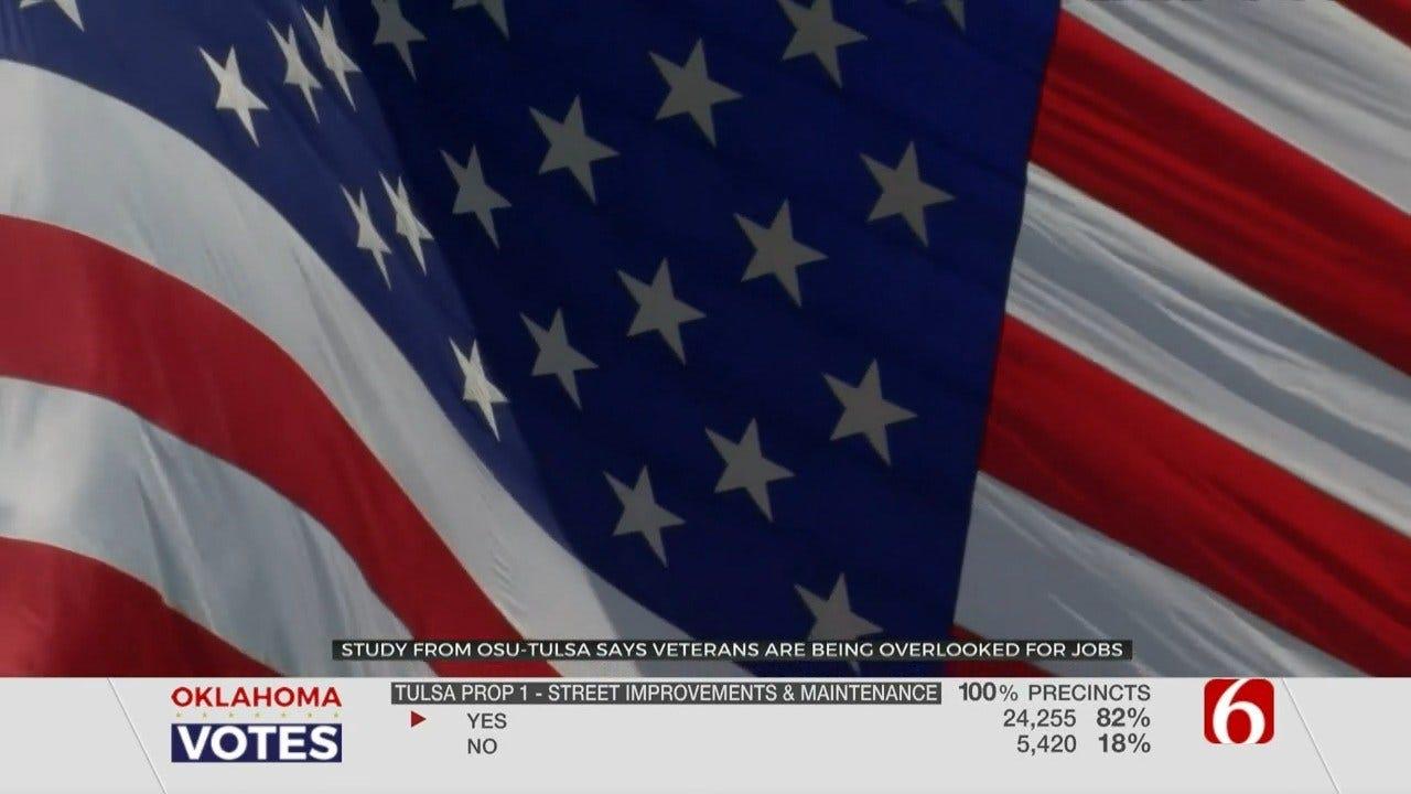 OSU Tulsa Study Finds Veterans Overlooked For Certain Jobs