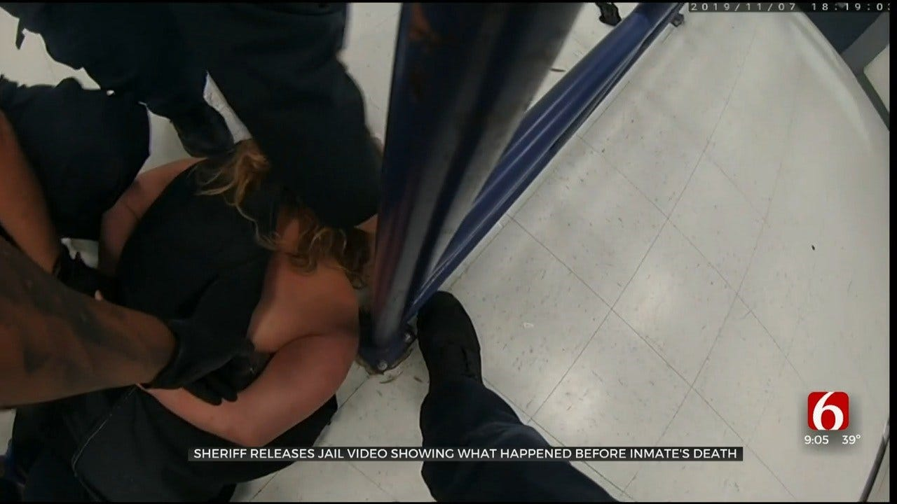 Rogers Co. Sheriff's Office Releases Video After Inmate Death