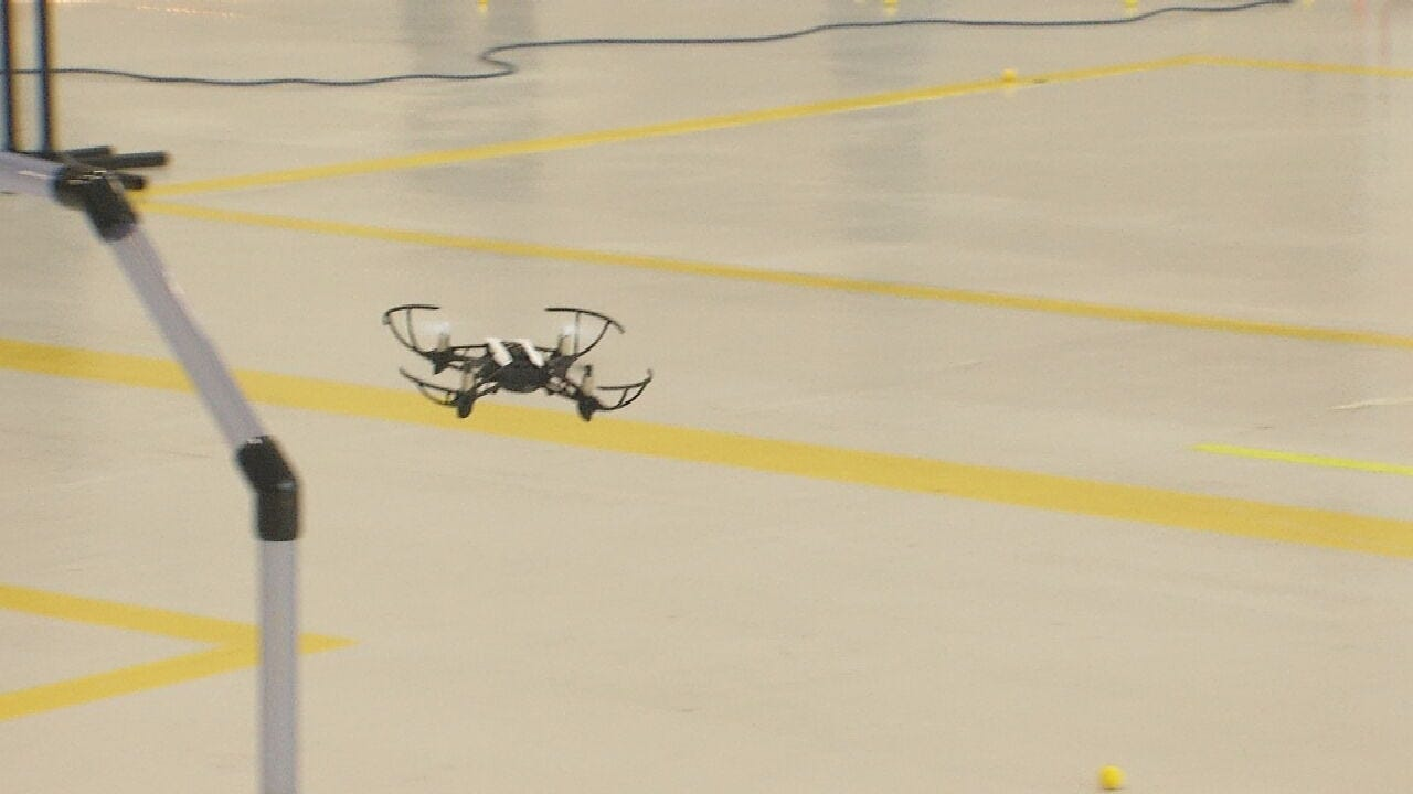 Tulsa Tech Riverside Hosts Youth Drone Competition