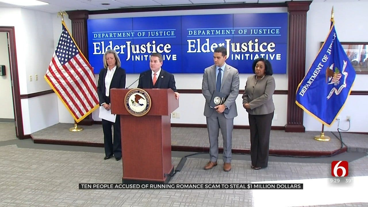 U.S. Attorney's Office Charges Make Arrests, Charges In Romance Scams