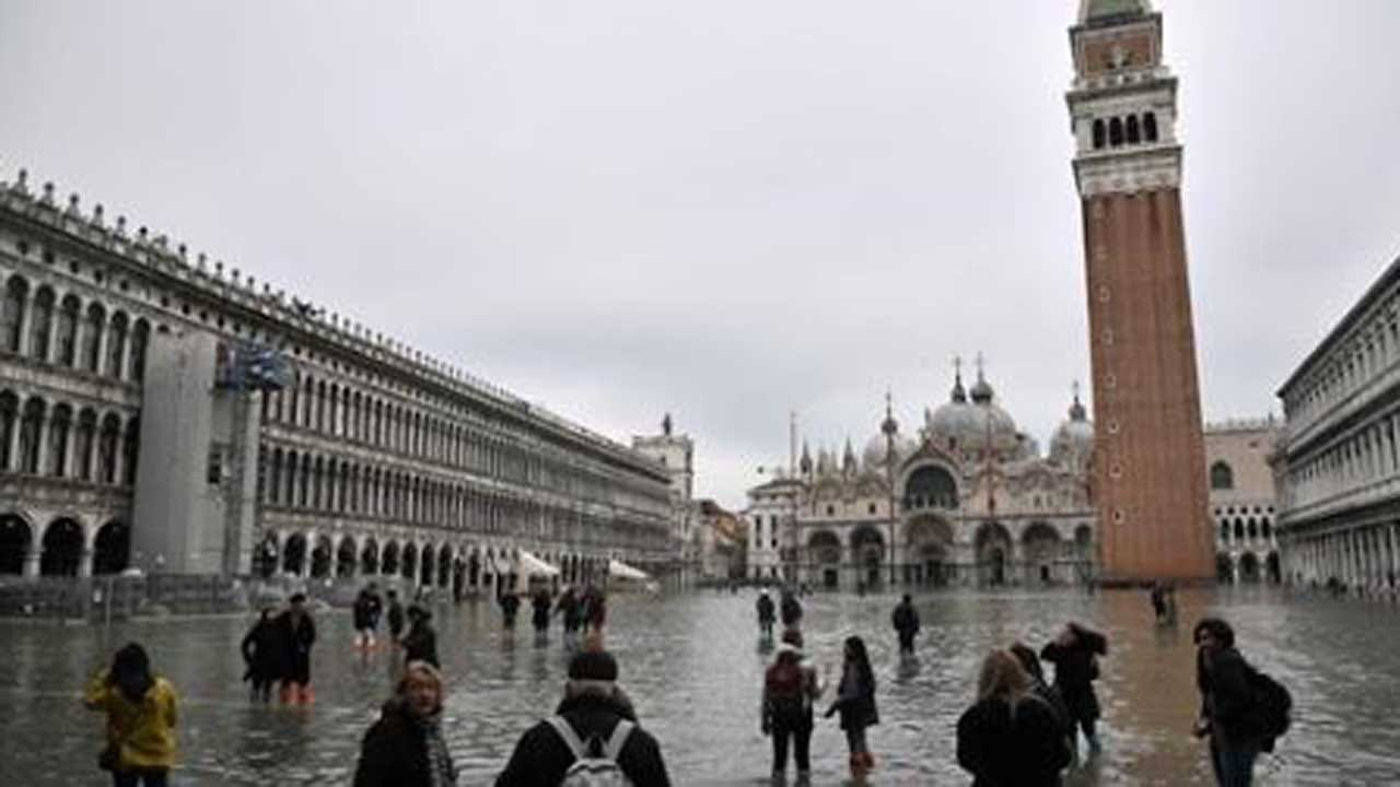 Emergency Declared In Venice, Italy, Due To Historic High Tides