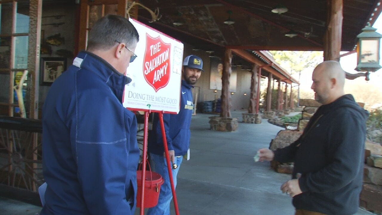 ORU Lends A Hand to Salvation Army With Annual 'Day Of Ringing'