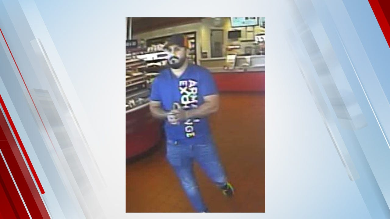 Sapulpa Police Looking For Suspect In Fake Bank Card Scam