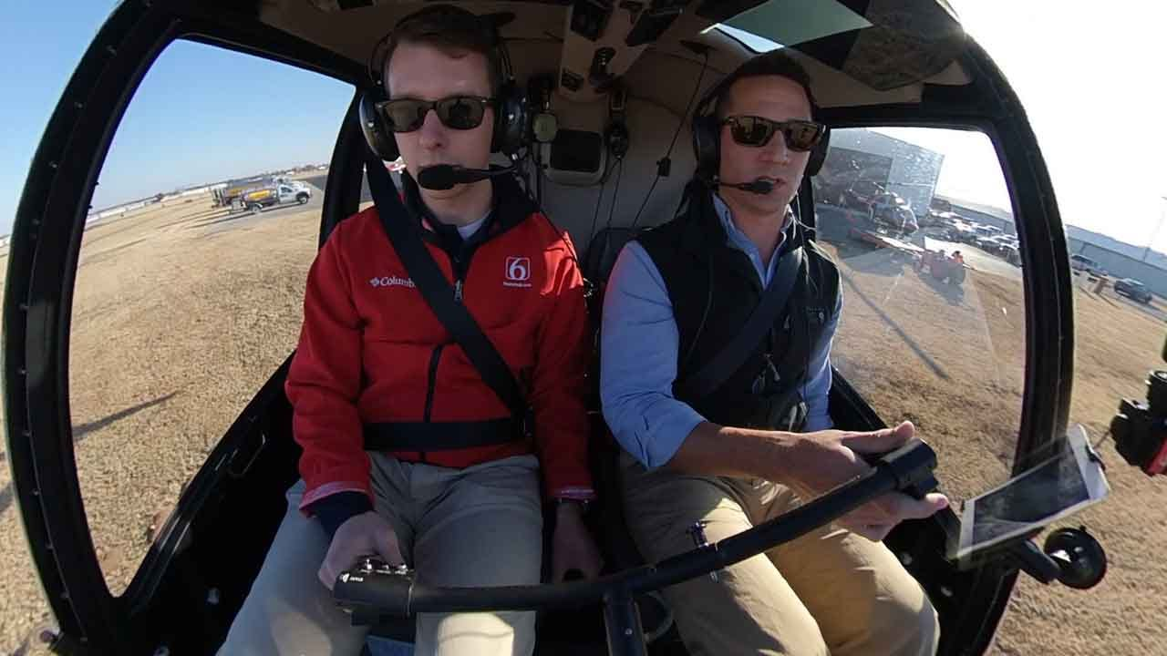 Osage SkyNews 6 HD Journalist Discovers What It Takes To Fly A Helicopter