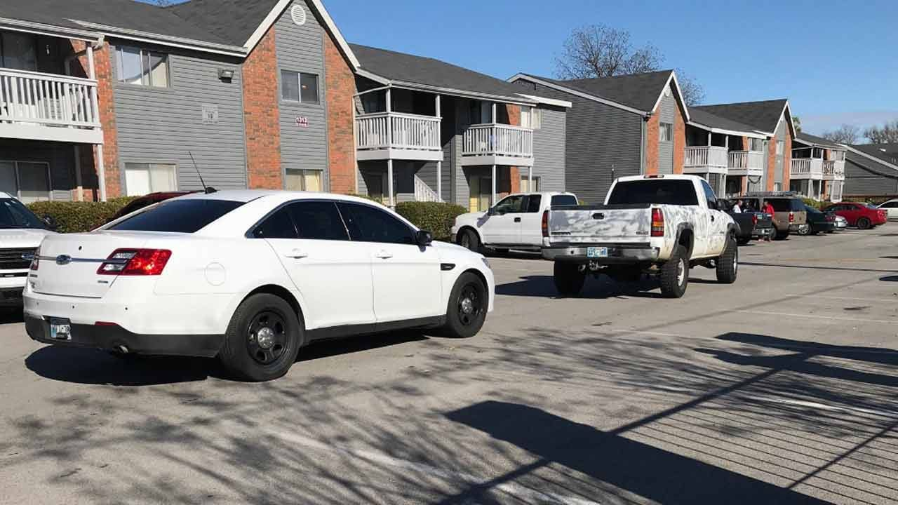 Man Accused Of Driving Stolen Truck Arrested At Tulsa Apartment Complex