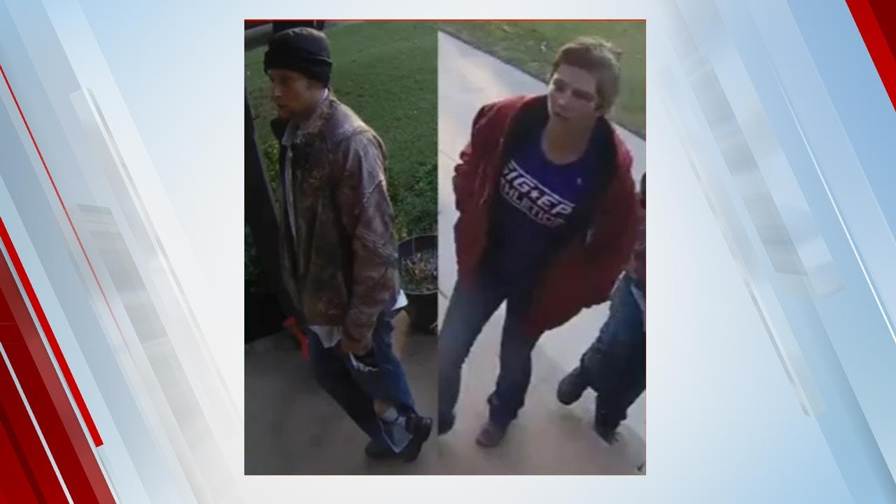 Tulsa Police Searching For Suspects In Attempted Car Theft
