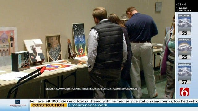 Tulsans Commemorate 81st Anniversary Of Kristallnacht