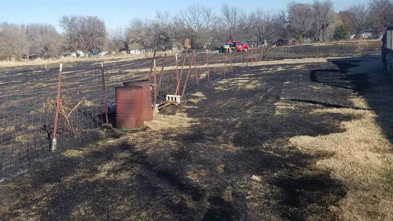 Woman Causes Turley Grass Fire After Burning Trash