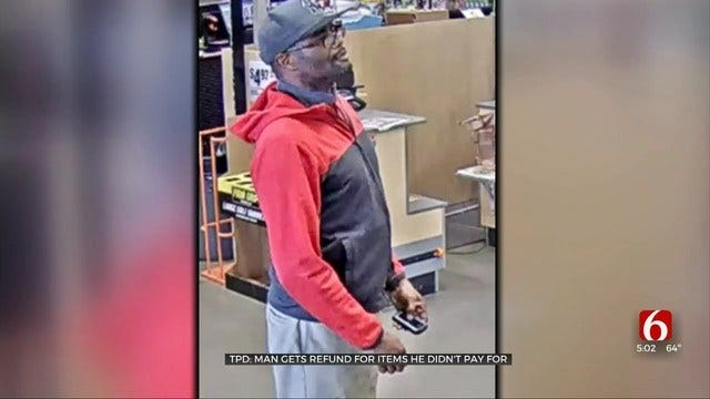 Tulsa Police Say Shoplifters Are Getting Refunds For Stolen Items