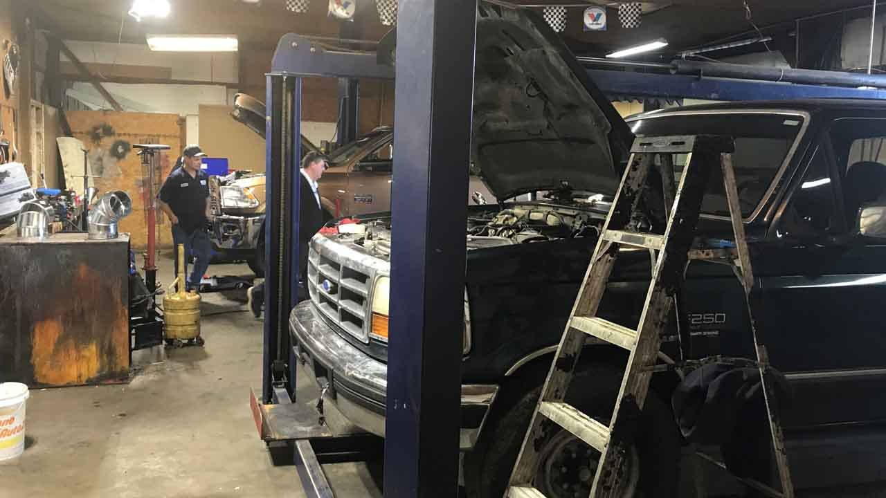 Wagoner Auto Shop Reopens After Fire Destroyed Original Location