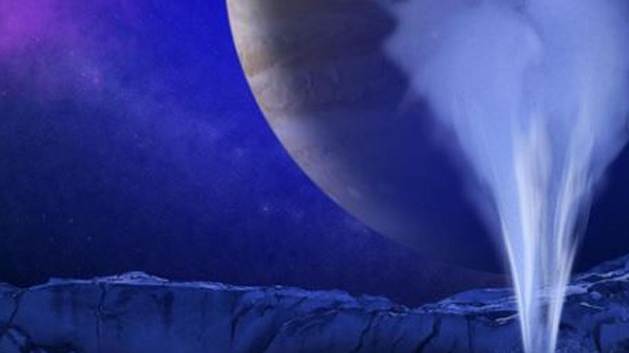 Water Vapor Found On Jupiter's Moon Europa