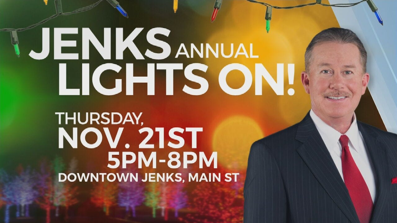 Jenks Prepares For Christmas, Holding 'Lights On' Event