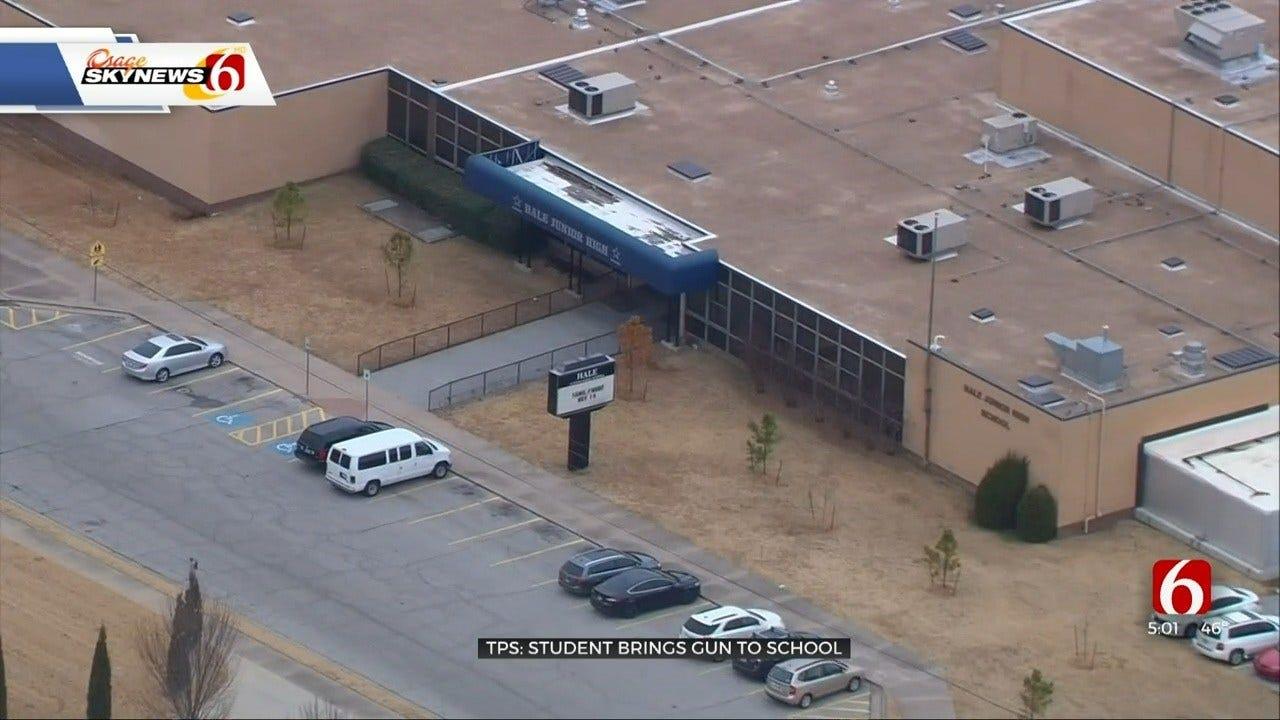 Student Found With Gun At Hale Junior High School