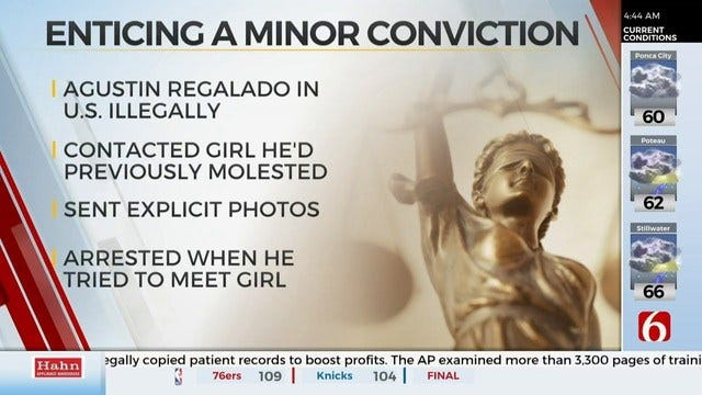 Tulsa Man Found Guilty Of Attempting To Coerce Child
